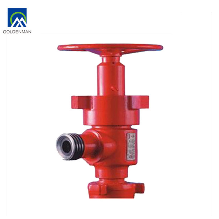 API high pressure manual adjustable Choke Valve
