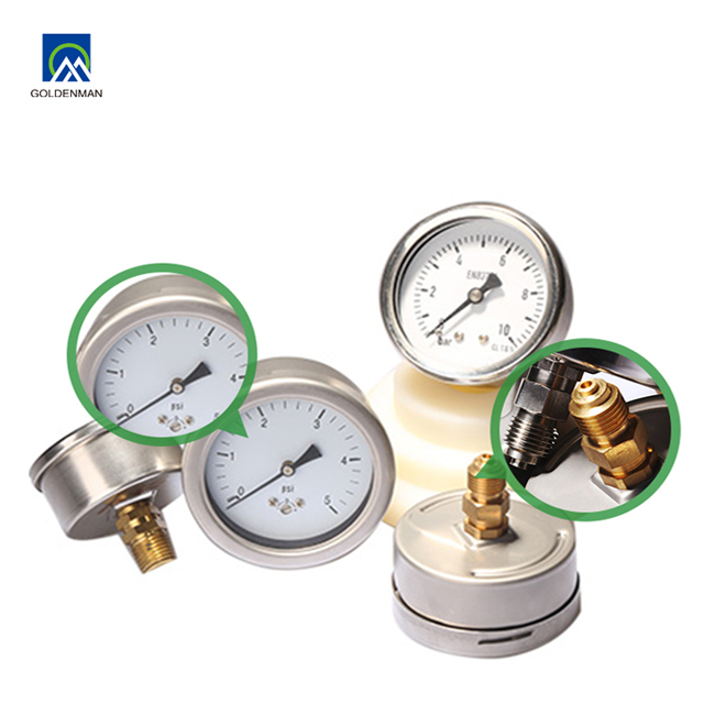 API 7K Anti-vibration Pressure Gauge For Mud Pump